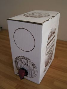 5 Litre Ale Bag and Boxes